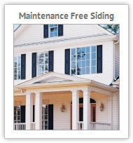 Maintenance Free Siding Iowa City area
