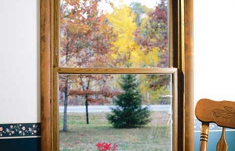 Double Hung Window Interior