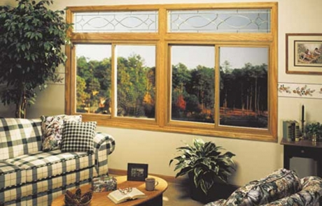 Dual Two Lite Sliding Windows w/ Transoms - Hometown Restyling - Cedar Rapids, IA