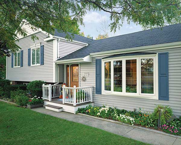 Home Town Restyling Four Lite Bow Window Exterior - Home Town ...