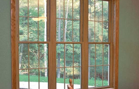 Triple Double Hung Windows - Hometown Restyling - Cedar Rapids, IA