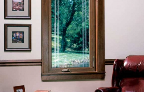 Single Casement w/ Beveled Glass