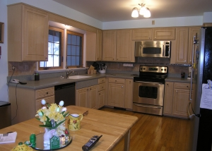 Cabinet Refacing Project 1 After