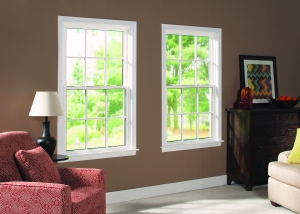 White Vinyl Double Hung Windows - Hometown Restyling - Cedar Rapids, IA