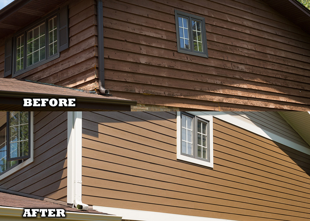 Painting Cement Board : Home town restyling exterior siding gallery cedar rapids ia
