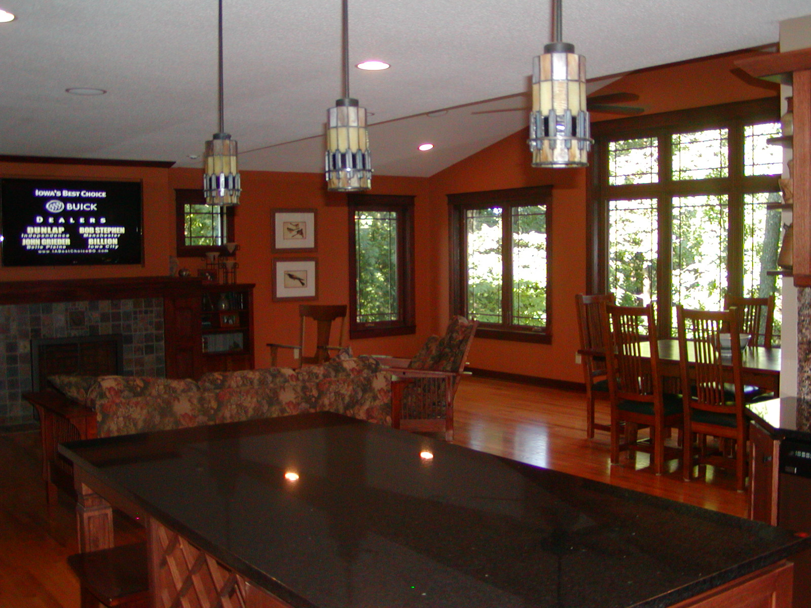 Great Rooms Family Dining Rooms Eastern Iowa