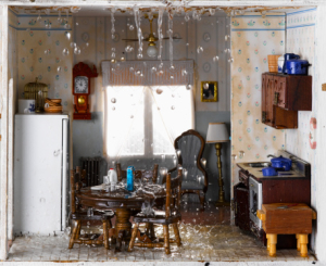 Home Town Restyling Five Bathroom Water Damage Signs You Need To - Repair water damaged subfloor bathroom