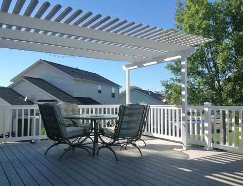 Ray Maintenance Free Deck Pergola