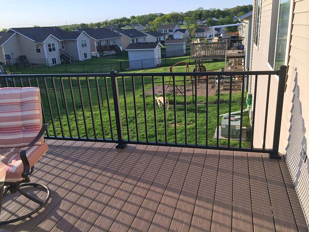home town restyling maintenance free deck gallery home