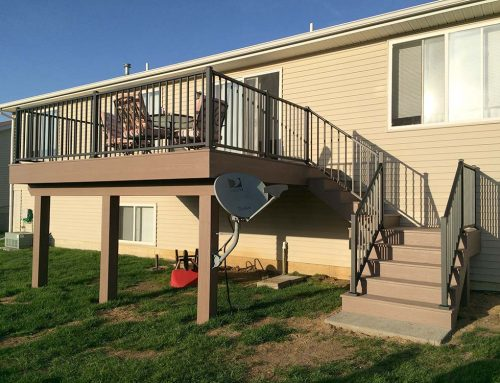 Shanle Maintenance Free Deck Stairs