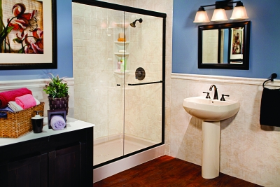 Home Town Restyling Quick And Affordable Bathroom Remodel Options - Quick bathroom remodel