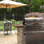 Outdoor Living Spaces - Backyard Kitchen