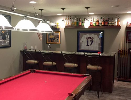 Video: Home Bar Gets Stylish Makeover