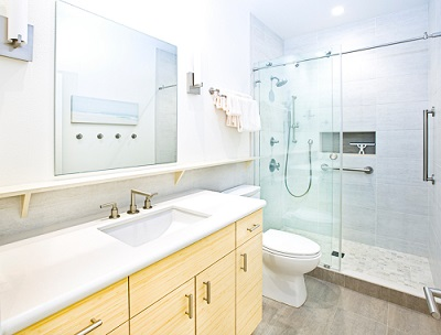 Home town restyling is a tub to shower conversion right for Bathroom remodeling manitowoc
