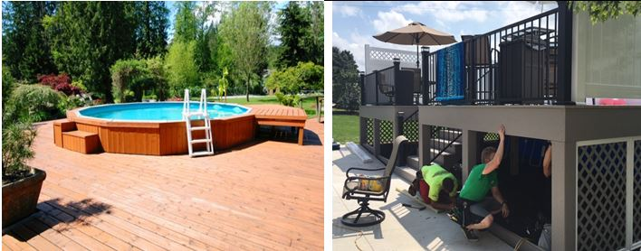 Many Pool Decks Will Incorporate Storage Either Under The Deck Or With Built In On