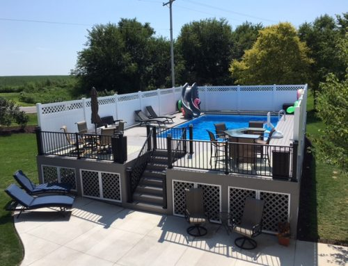 Get The Party Started with an Above Ground Pool Deck