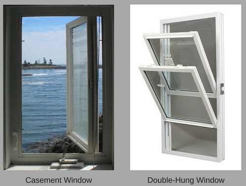 Replacement Window Tips Casement Vs Double Hung