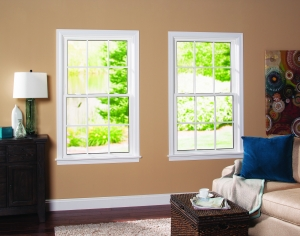 White Double Hung Replacement Windows