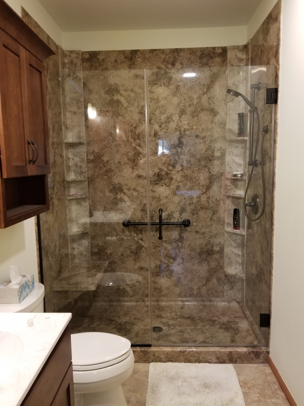 Home Town Restyling Bathroom Remodel Gallery Home Town Restyling - Bathroom remodel sweepstakes