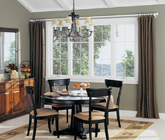 Fiberglass is a great option for your window installation.
