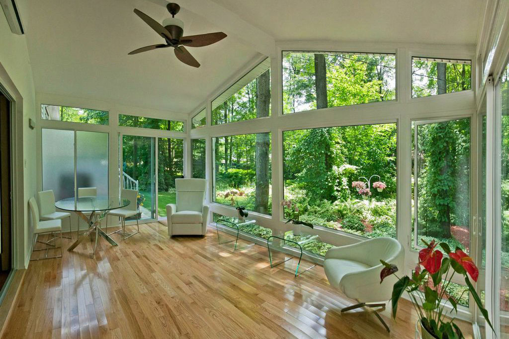 Interior View 1 of Three or Four Season Sunroom in Iowa| Home Town Restyling