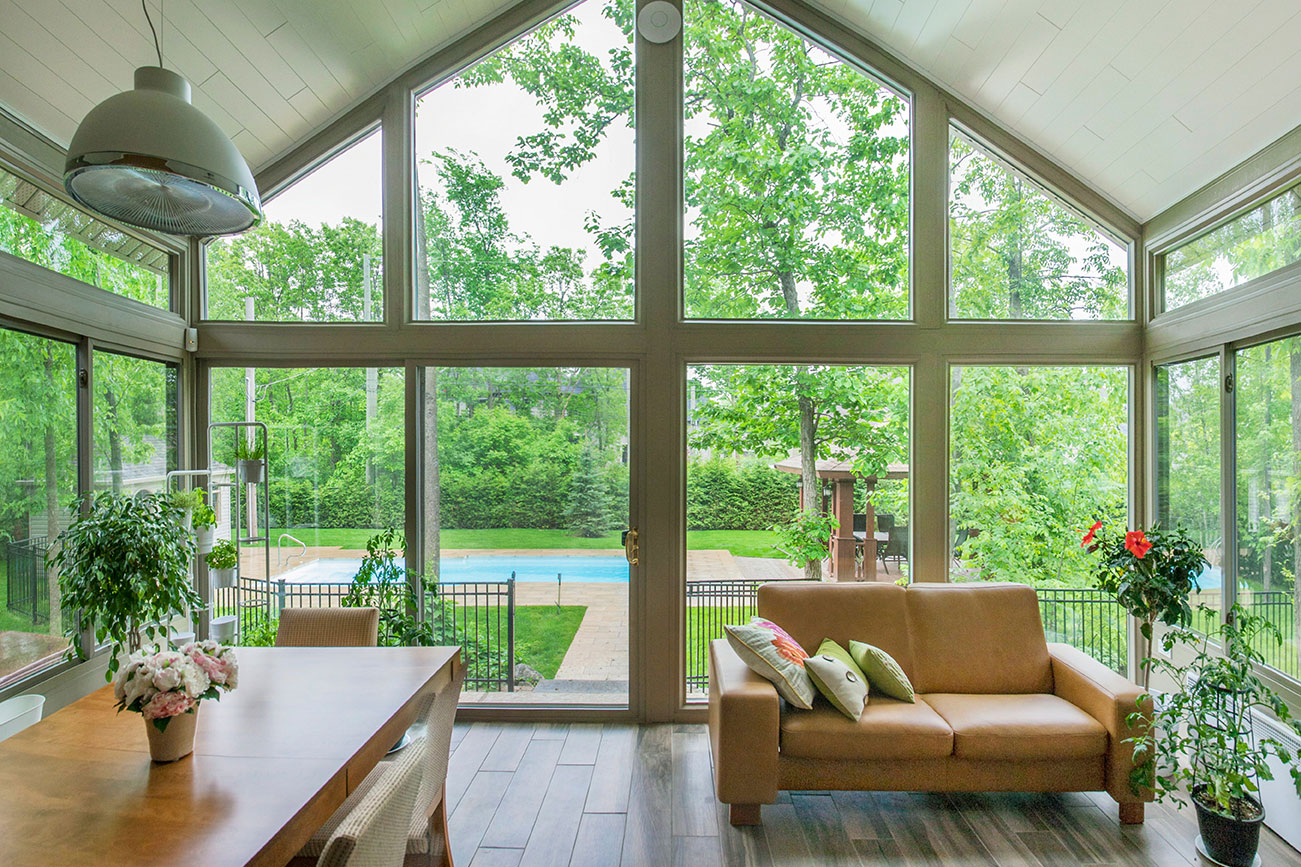 Interior View 2 of Three or Four Season Sunroom in Iowa| Home Town Restyling