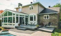 Iowa Three and Four Season Sunrooms Exterior View | Home Town Restyling
