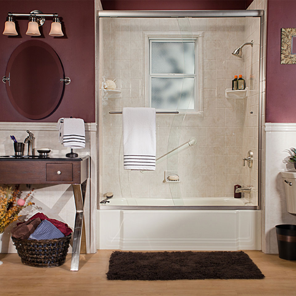 Improve your bathtub and shower through a bathroom remodeling project.