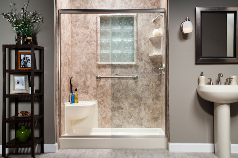 Walk-In Shower Remodel 1 | Eastern Iowa | Home Town Restyling