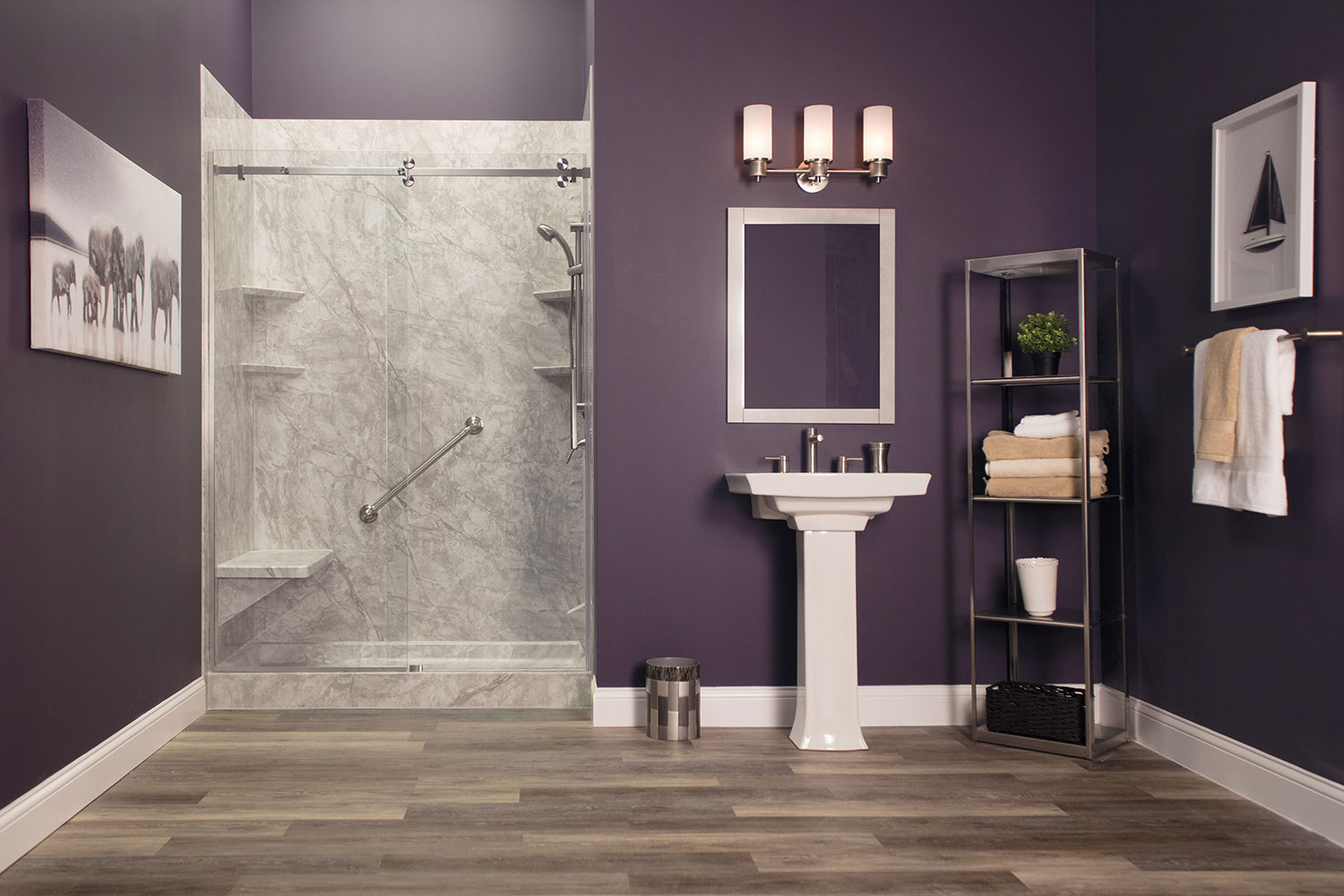 Iowa Walk in Shower Remodel 2 | Home Town Restyling