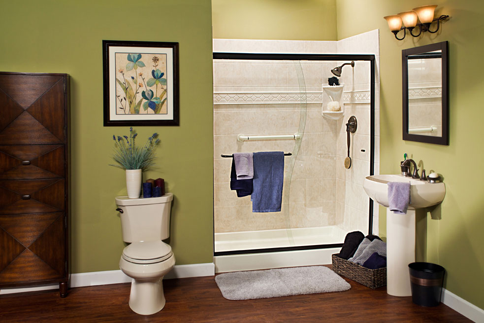 Iowa Walk in Shower Remodel 3 | Home Town Restyling