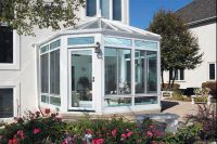Iowa Conservatory Sunroom Installation | Exterior View | Home Town restyling