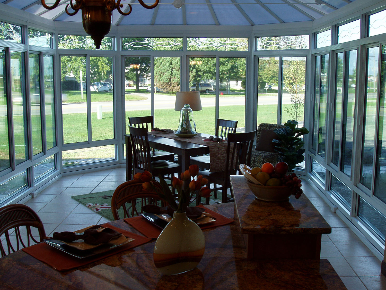Iowa Conservatory Sunroom Installation   Interior View 2   Home Town restyling