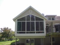 Iowa Sunroom Conversion | Enclosed Screen Room 3 | Home Town Restyling