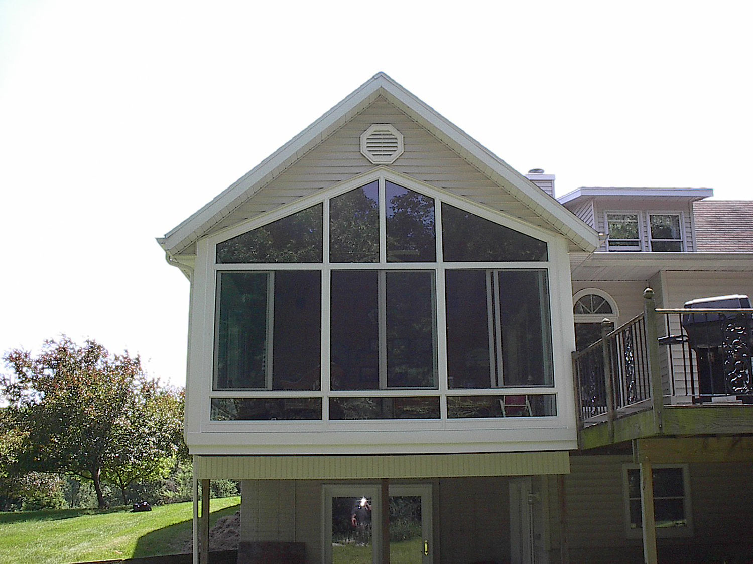 Iowa Sunroom Conversion   Enclosed Screen Room 3   Home Town Restyling