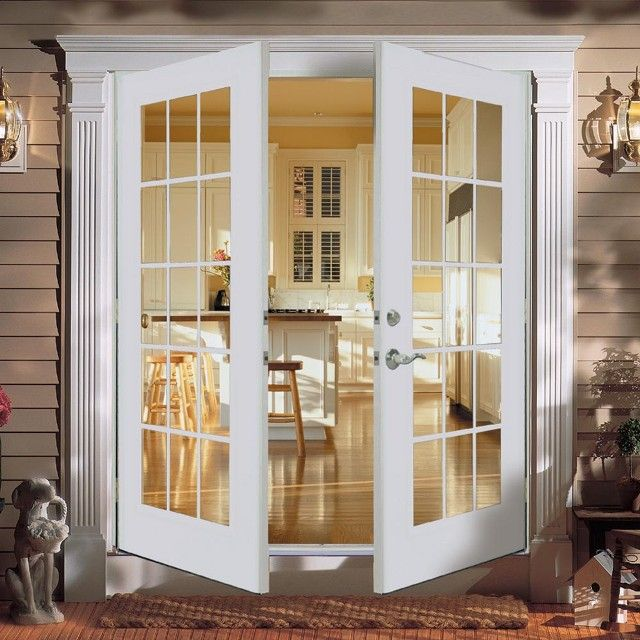 Iowa French Doors   Open French Doors   Home Town Restyling