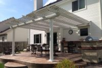 Iowa Attached and Detatched Pergolas | Attached Pergola | Home Town Restyling
