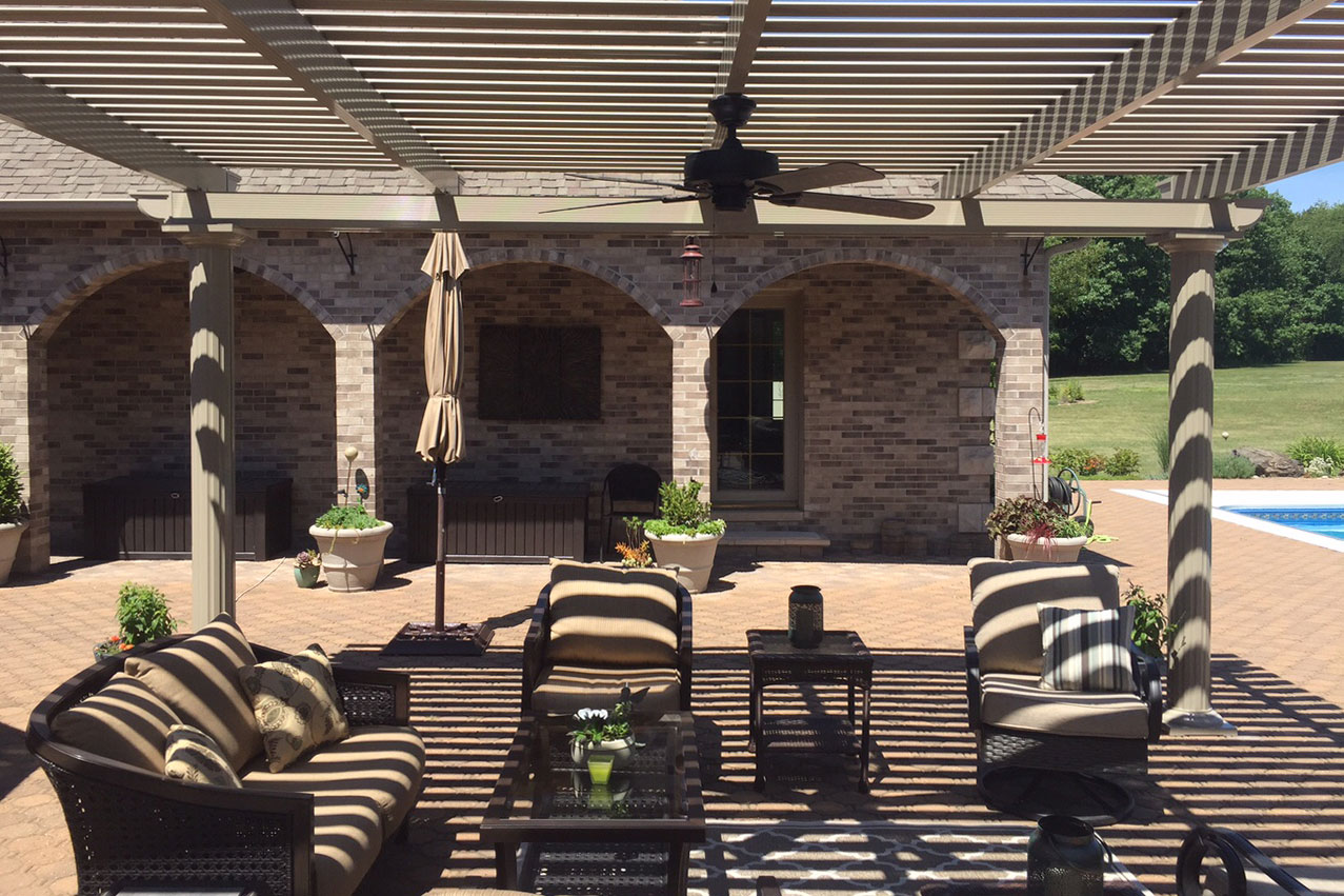 Iowa Attached and Detatched Pergolas | Detatched Pergola | Home Town Restyling