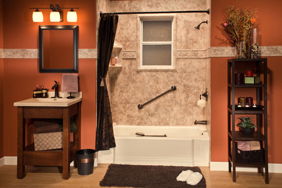 Replacement Tub-Shower Units | Eastern Iowa | Home Town Restyling