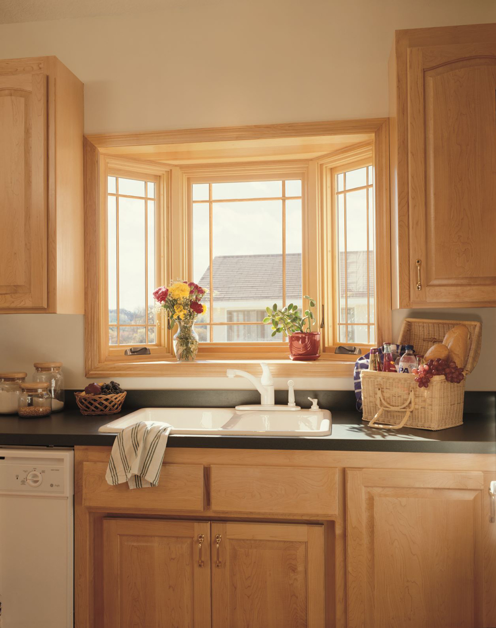 Kitchen Bay Window Home Town Restyling