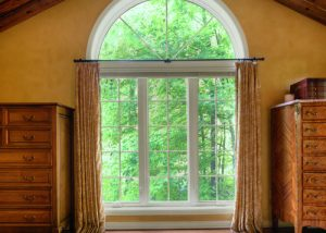 Curtained Fiberglass Windows in Iowa