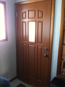 Fiberglass Entry Door by Home Town Restyling