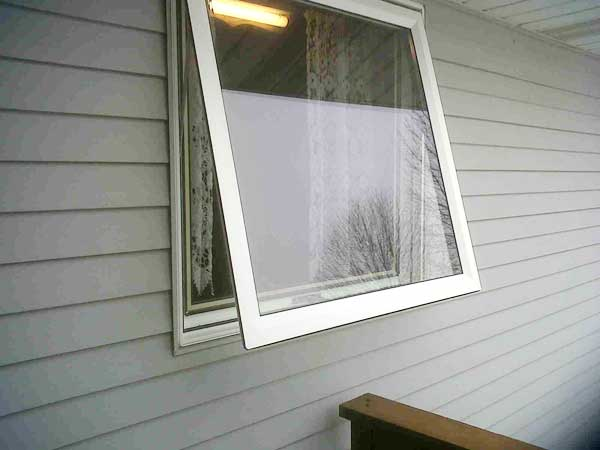 Home Town Restyling Vinyl Awning Window Solves a Problem ...